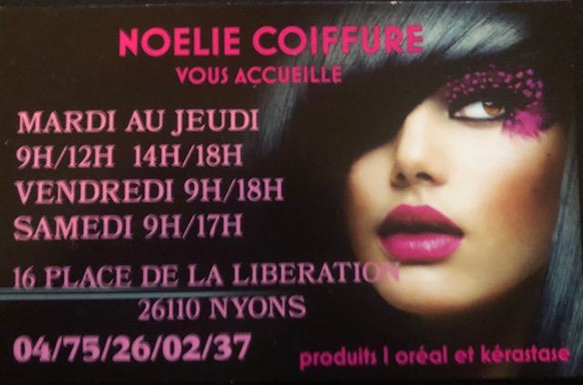 Partenariat Noélie Coiffure