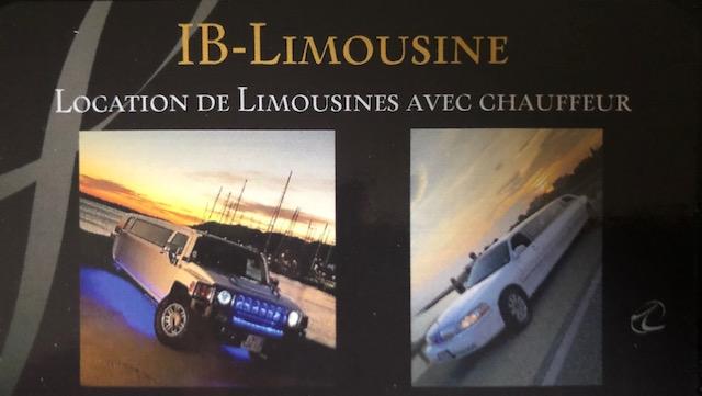 Partenariat IB Limousine